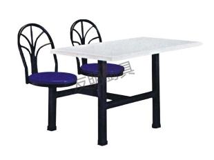 两人快餐桌椅