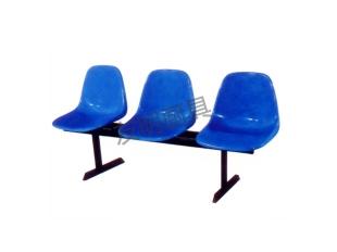 三人坐玻璃钢靠背排椅